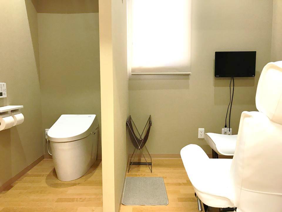 トイレ付の個室